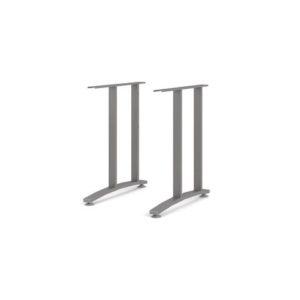 Skrivebordsben PRIMA sølvfarget (2)
