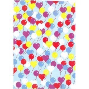 Gavepapir 70cmx10m Hearts