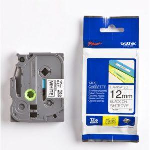 Tape BROTHER TZe-231 12mmx8m sort/hvit