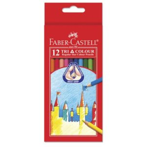 Fargeblyant FABER-CASTELL Tri Color (12