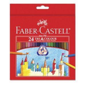 Fargeblyant FABER-CASTELL Tri Color (24