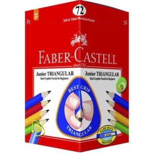 Blyant FABER-CASTELL begynner HB (72)