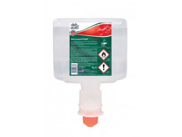 Hånddesinfeksjon DEB Skum 1L til TF2 di