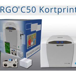Kortprinter FARGO C50
