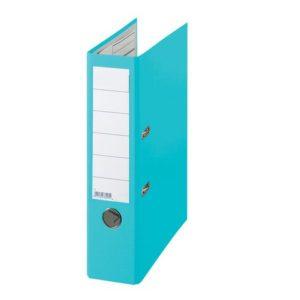 Smalordner 50mm skinne A4 lys blå