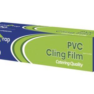 Cateringfilm 30cmx300m m/dispenser