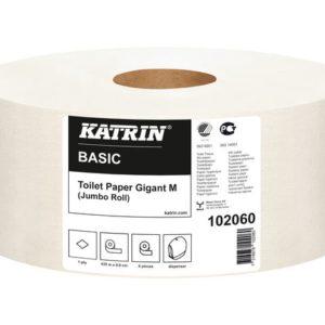 Toalettpapir KATRIN Basic Gig 1L M 435m