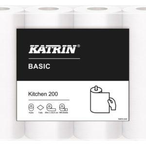 Kjøkkenrull KATRIN Basic 200 1L 55m