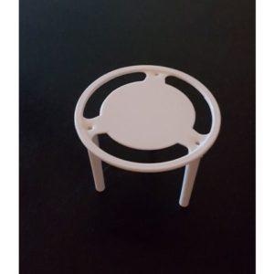 Pizzalokkstopper plast hvit (1000)