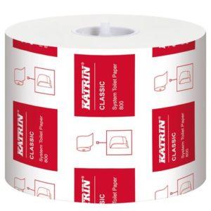 Toalettpapir KATRIN Classic Sys 800 100