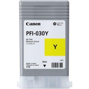 Blekk CANON PFI-030 gul