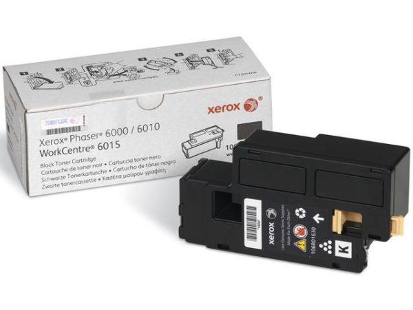 Toner XEROX 106R01630 sort