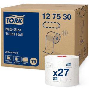 Toalettpapir TORK Advance 2L T6 100m