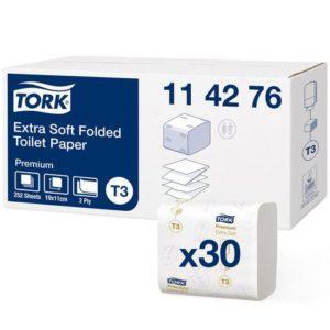 Toalettpapir TORK Premi ark 2L T3 (7560