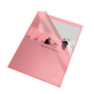 Plastomslag ESSELTE A4 105my rød (100)