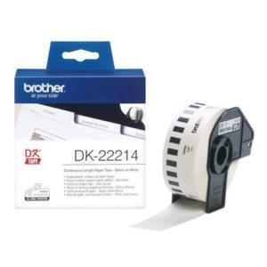 Etikett BROTHER DK-22214 12mmx30