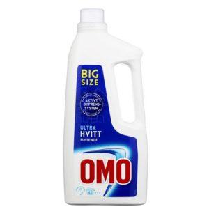 Tøyvask OMO hvitt flytende 1