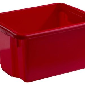 Oppbevaringsboks NORDISKA PLAST 15L rød