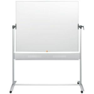 Whiteboard NOBO Vendbar lakkert150x120c