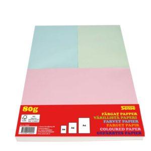 Papir SENSE A4/A5/A6 ass frg 0