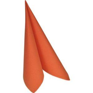 Serviett DUNI 3L 24cm mandarin (250)