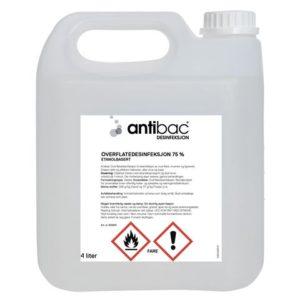 Overflatedesinfeksjon ANTIBAC 75% 4L