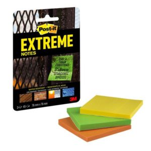 POST-IT Extreme Std Notes 76x76mm (3)