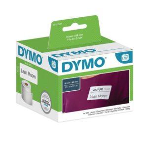 Etikett DYMO navneskilt 41x89mm (300)