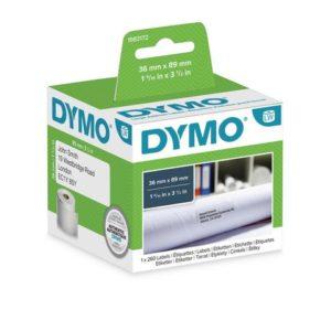 Etikett DYMO Adresse 89x36mm (260)