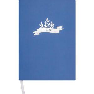 Notatbok BURDE A5 To Do blå