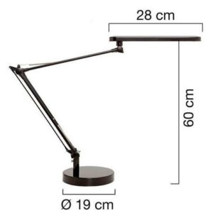 Lampe UNILUX LED Mambo grå