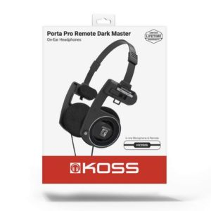 Headset KOSS PortaPro Mic Dark Master