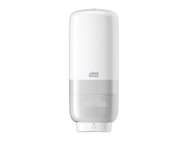 Dispenser TORK sensor skumsåpe S4 hvit