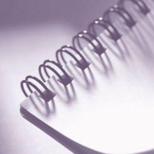Spiralinnbinding GBC svart 8mm (100)