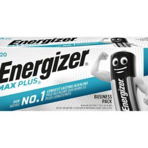 Batteri ENERGIZER Max Plus AA (20)