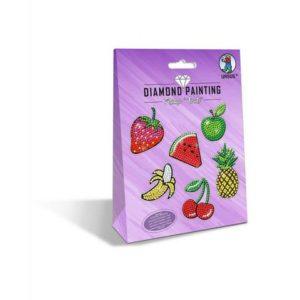 Klistremerke DIY sett frukt(5)
