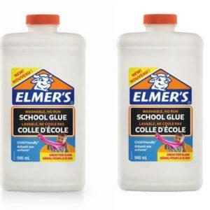 Lim ELMERS 946ml flytende hvitt