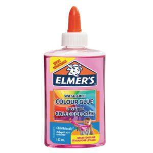 Lim ELMERS 147ml flytende transp.rosa