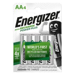 Batteri ENERGIZER PowerPlus AA/NH15 (4)