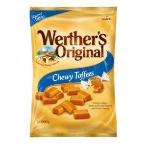 Karamell WERTHER'S soft toffees 1000g
