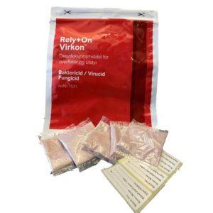 Overflatedesinfeksjon Virkon poser10g(5