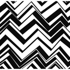 Bordbrikke DUNI 35x45cm black&white(250