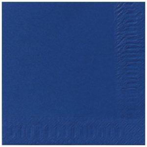 Serviett DUNI 1L 33cm mørk blå (500)