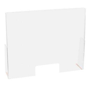 Plexiglass stående b:90x65 m/4kant luke