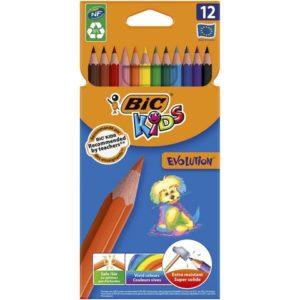 Fargeblyant BIC Kids EvolutionColor (12