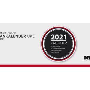 Plankalender GRIEG spiral 2021