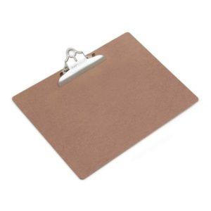 Ordrebrett RAPESCO hardboard A3 brun