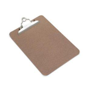 Ordrebrett RAPESCO hardboard A5 brun