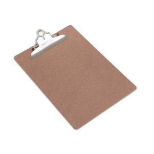 Ordrebrett RAPESCO hardboard A4+ brun