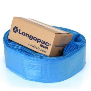 Avfallssekk LONGOSTAND Mini 18my blå